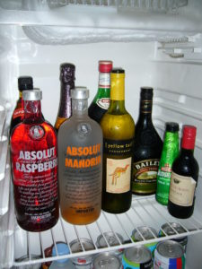 Fridge of An Alcoholic