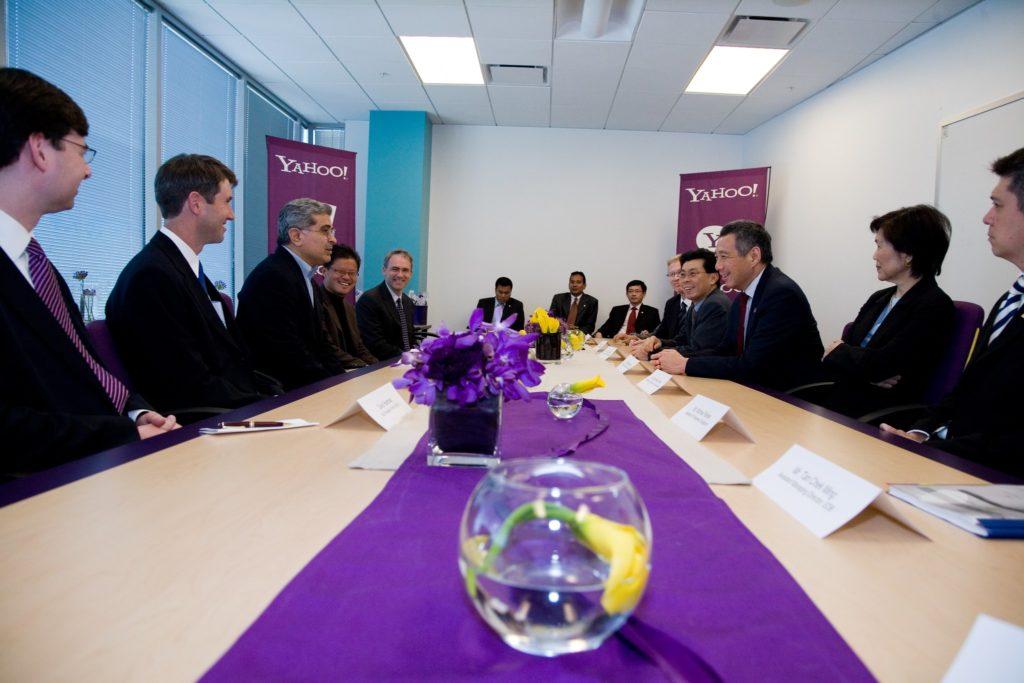 Singapore Prime Minister at Yahoo!