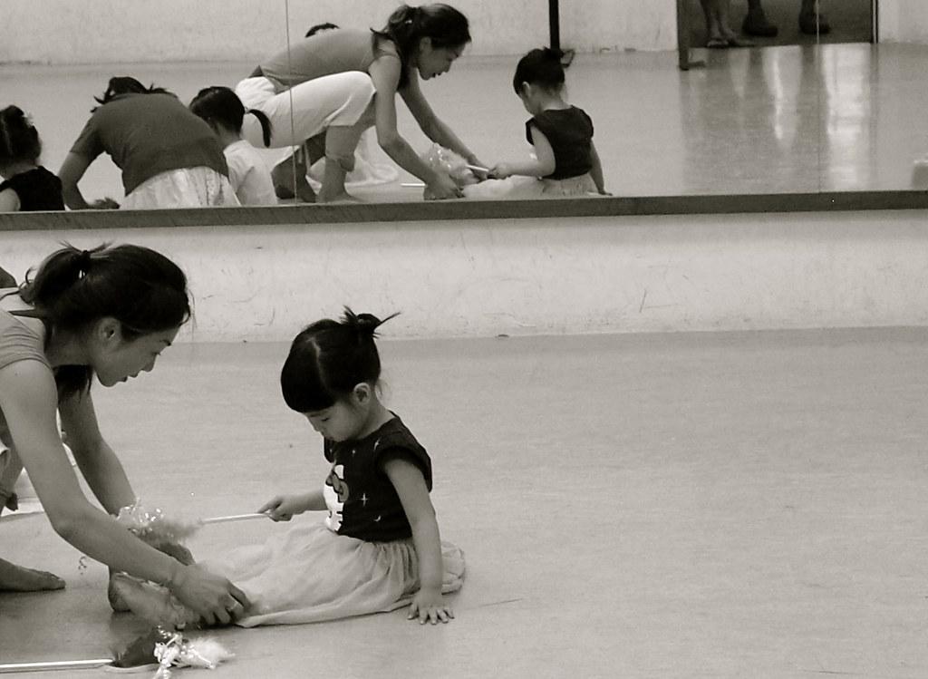 veve @ first ballet class