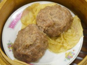 陸羽茶室 - beef ball with tangerine